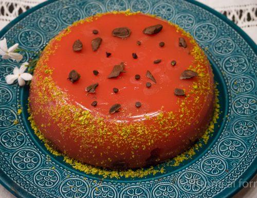 Gelo di melone (anguria), ricetta siciliana