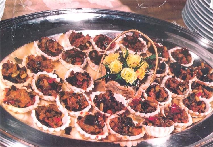 caponata siciliana tarteleltte