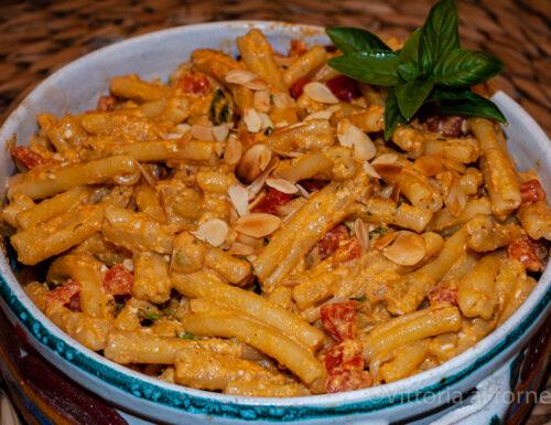 Pasta al pesto ericino, antica ricetta siciliana