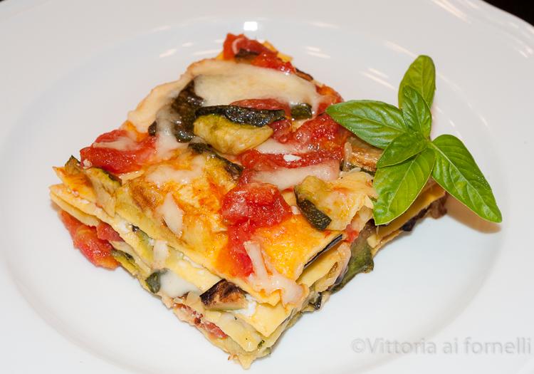 lasagne con zucchine