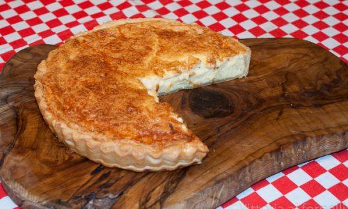 Quiche al formaggio, facile e cremosa