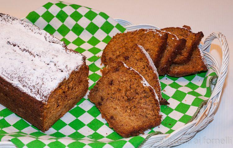 Plum cake speziato zucca e cioccolato