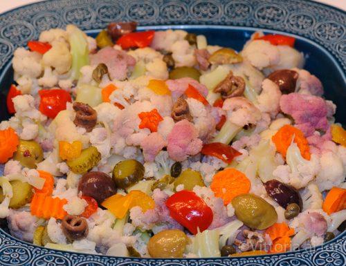 Insalata di rinforzo, ricetta tradizionale