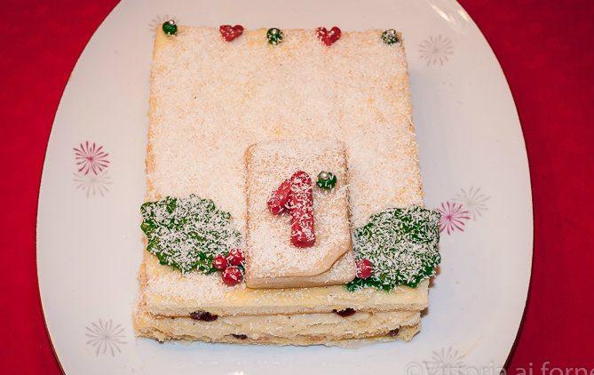 Torta di Capodanno con crema diplomatica