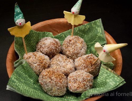 Crocchette dolci di castagne, ricetta sfiziosa