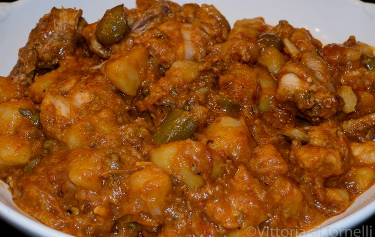 Coniglio alla portoghese, ricetta siciliana