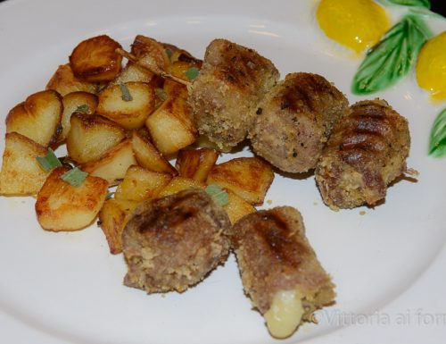Braciole alla messinese, involtini siciliani