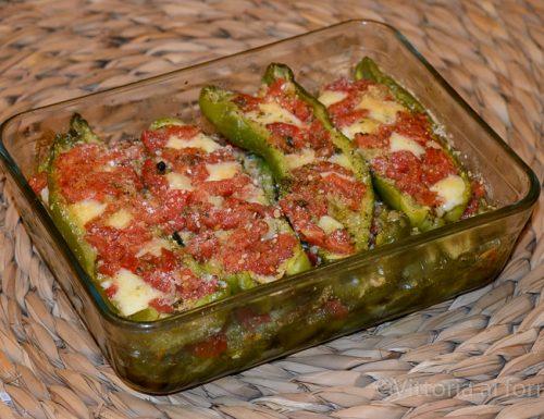 Friggitelli ripieni, ricetta siciliana