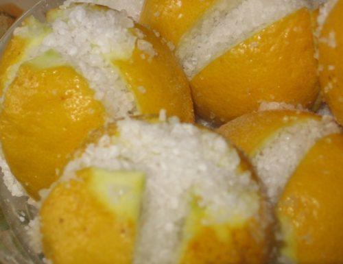 Citrons confits, conserva salata