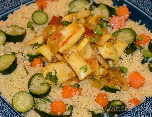 Cous cous con calamari, ricetta portoghese
