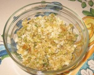 ripieno ravioli con zucchine