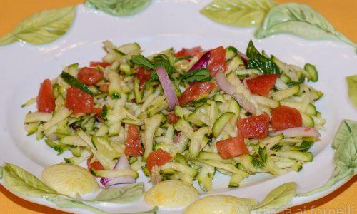 Carpaccio vegetariano, ricetta veloce