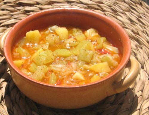 Minestra di cucuzza longa, ricetta siciliana