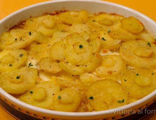 Tortino di patate e crescenza, ricetta semplicissima