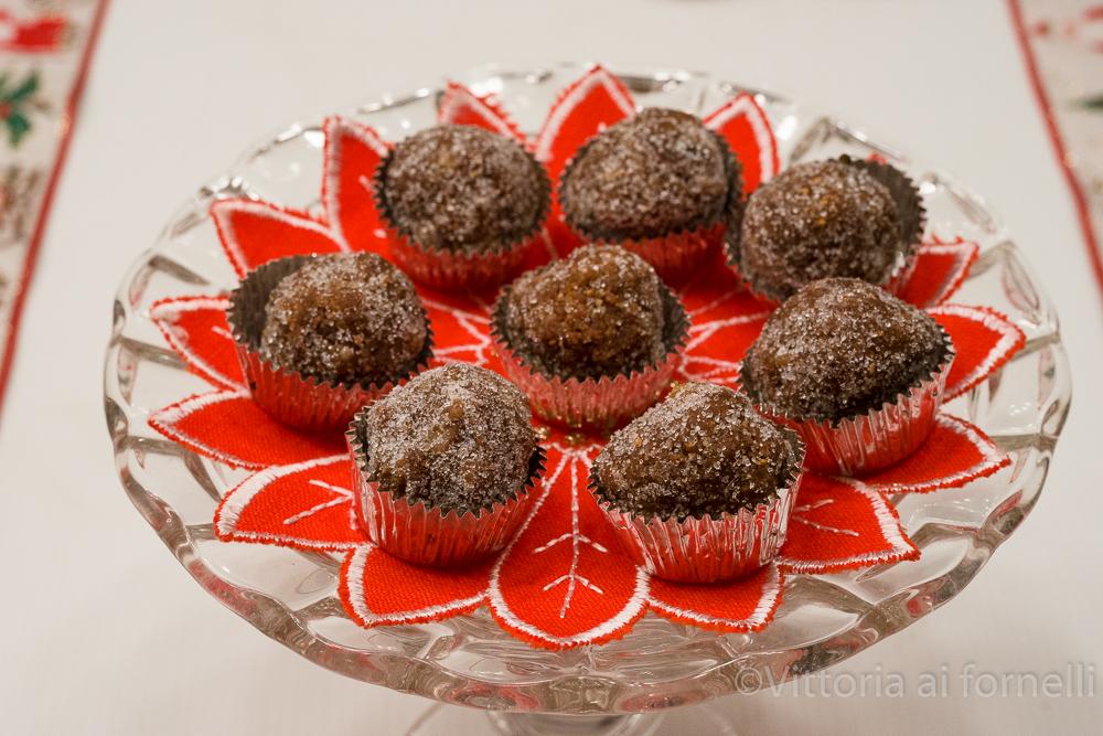 dolcetti cioccolato e frutta secca