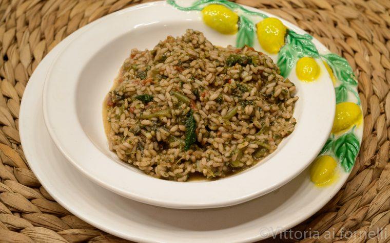 Risotto alla borragine, ricetta siciliana