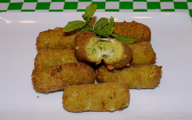 Crocchette di fave e pecorino, ricetta sfiziosa