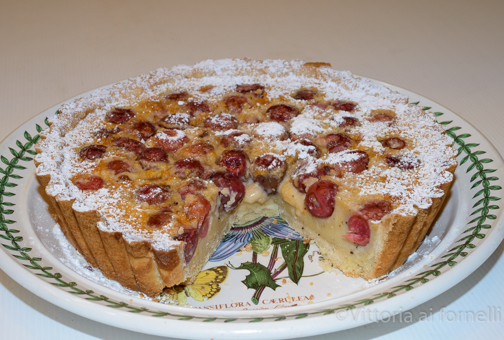 torta di ciliegie e crema_4285
