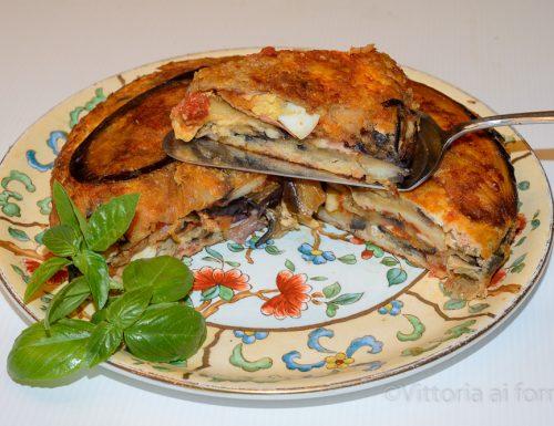 Sformato di melanzane, ricetta siciliana