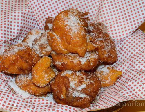 Sfinci di cucuzza, frittelle siciliane di zucca