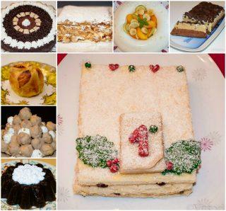 menu per capodanno dolci