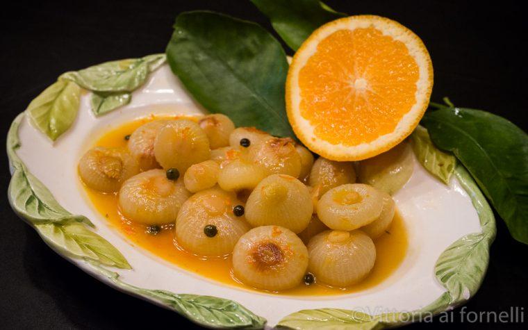 Cipolline in agrodolce all'arancia, ricetta facile