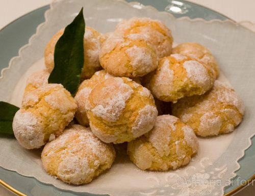 Biscotti morbidi all'arancia, ricetta facile