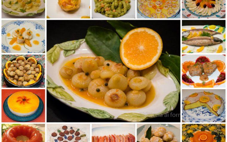 Ricette con le arance, dall'antipasto al dolce