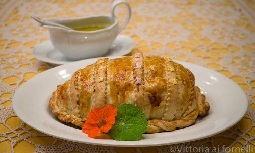 Pasticcio di carne e verdure in crosta