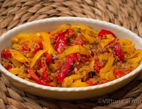 Peperoni ammollicati, ricetta tradizionale