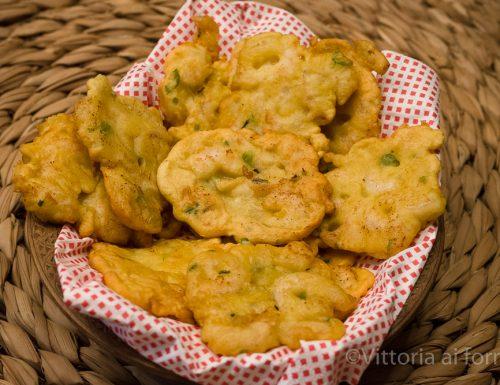 Frittelle di gamberetti (tortillitas de camarones), ricetta andalusa