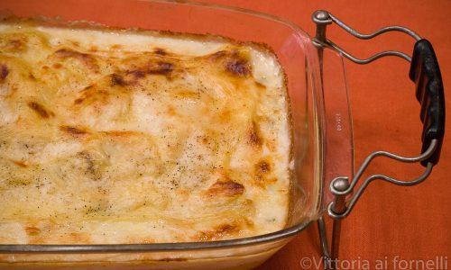 Lasagne ai quattro formaggi, facili e golose