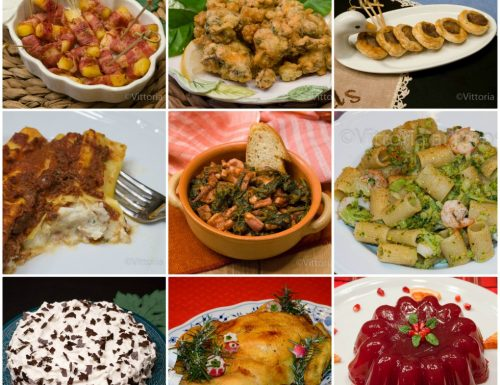 Menu di Natale, raccolta di ricette