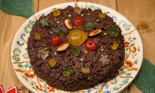 Riso nero alla messinese, antico dolce siciliano