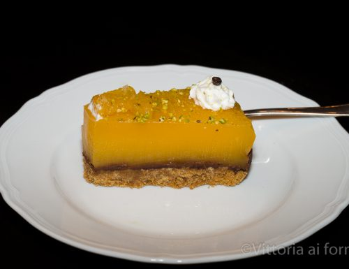 Torta di mandarino e cioccolato, dolce senza forno