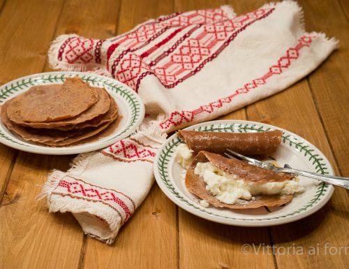 Necci toscani, vecchia ricetta di famiglia