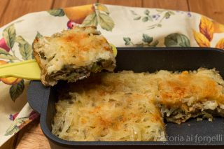tortino di carciofi e patate in padella