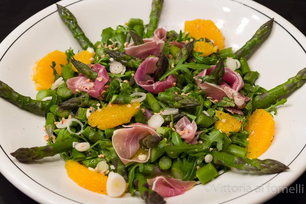 insalata di asparagi