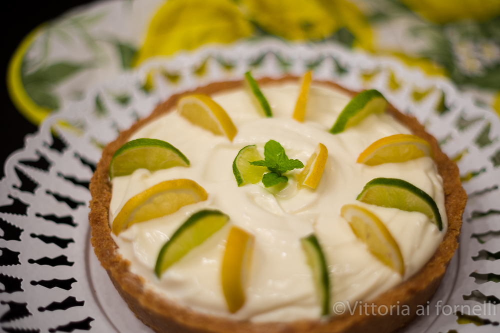 torta fredda al limone senza cottura