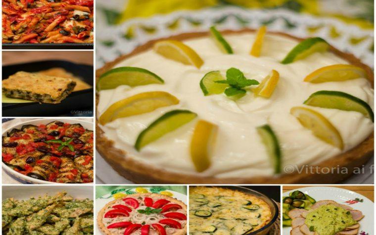 Piatti estivi, ricette facili e appetitose