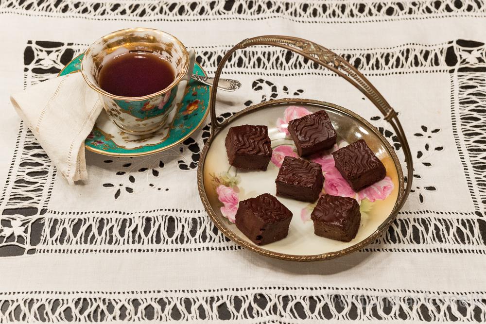 Carrés fondenti al cioccolato