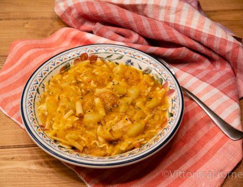 Pasta e patate alla napoletana, ricetta di casa