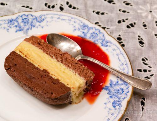 Terrina al triplo cioccolato