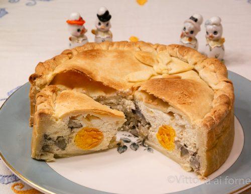 Torta Pasqualina ai carciofi, ricetta ligure