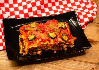 Lasagne estive con melanzane, zucchine e provola