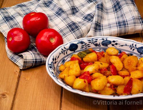 Patate alla contadina, un contorno facile e gustoso