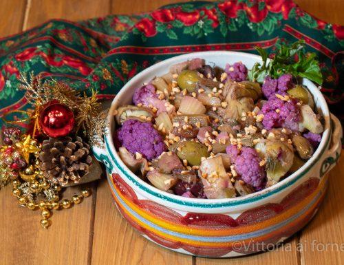 Caponata di Natale, ricetta siciliana