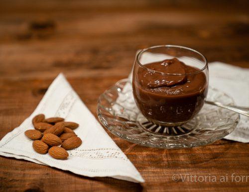Biancomangiare al cioccolato di Modica