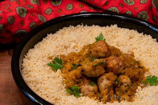 Polpettine di pollo e olive alla marocchina