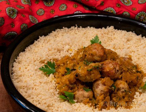 Polpettine di pollo e olive alla marocchina, ricetta tipica
